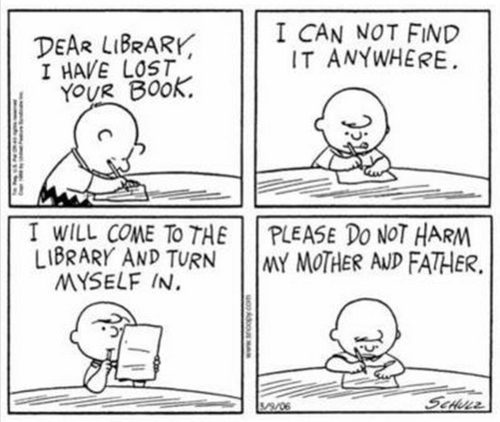 Peanuts-Library-Books