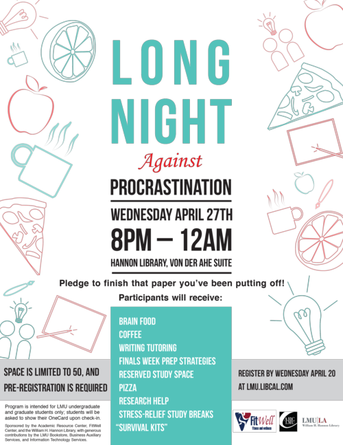 Sm_Flyer_Long Night Against Procrastination